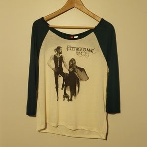 Fleetwood Mac rumours baseball tee